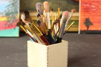 cac makerspace family workshop create your own planter or pencil